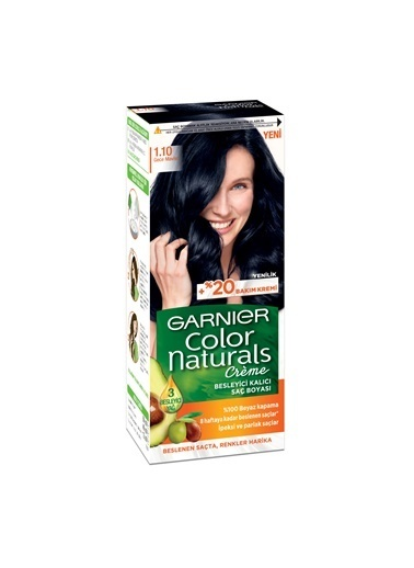 L'Oréal Paris Garnıer Color Naturals Creme 1.10 Gece si Saç Boyası Renksiz